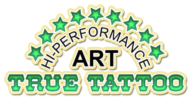 True Tattoo logo - Hutch Inspired